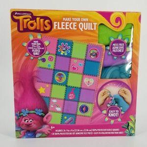 Trolls Fleece Quilt Making Kit